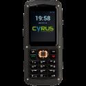 CYRUS CM 8 SOLID - Cellulare - Da esterno - Dual SIM - Nero