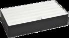 ALLDOCK Ladestation 6x USB - Large - Schwarz/Weiss