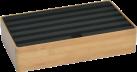 ALLDOCK Ladestation 6x USB - Large - Bambus/Schwarz