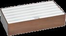 ALLDOCK Ladestation 6x USB - Large - Walnuss/Weiss
