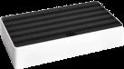 ALLDOCK Stazione di carico 6x USB - Large - bianco/nero