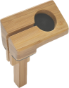 ALLDOCK Apple Watch Mount - Bamboo