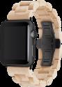 WOODCESSORIES EcoStrap - Apple Watch Holzarmband - 42 mm - Ahorn/Schwarz