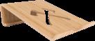 WOODCESSORIES EcoLift Mini - MacBook Holzständer - Bambus