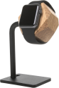 WOODCESSORIES EcoDock Watch - Stazione di ricarica in legno - Per Apple Watch - Marrone