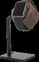 WOODCESSORIES EcoDock Watch - Stazione di ricarica in legno - Per Apple Watch - Marrone scuro
