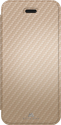 Black Rock Cover Flex Carbon - für Apple iPhone 5/5s/SE - Gold