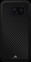 Black Rock Material Case Real Carbon - Pour Galaxy S8 - Noir