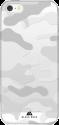 BLACK ROCK Cover Camouflage Case - Für Apple iPhone SE - Transparent