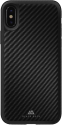 Black Rock Cover - Für Apple iPhone X - Real Carbon