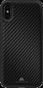 Black Rock Cover - Pour Apple iPhone X - Real Carbon