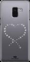 WHITE DIAMONDS Eternity - Pour Samsung Galaxy A8 (2018) - Transparent