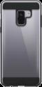WHITE DIAMONDS Innocence Tough Clear - Pour Samsung Galaxy A8 (2018) - Transparent/Noir