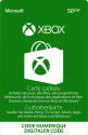 Microsoft Xbox-Guthabenkarte, CHF 50.-