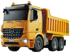 AMEWI Mercedes Benz Muldenkipper - Ferngesteuertes Fahrzeug - Massstab 1:20 - Orange