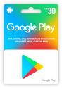 Google play Store Card CHF 30.-