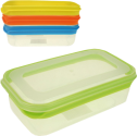 OSMA-WERM - Frischhaltedose - 4 Stück - Transparent