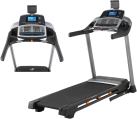 NordicTrack T 14.0 - Laufband - Max.135 kg - Schwarz/Silber