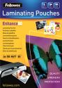 Fellowes Laminierfolie, A4, 80 micron, 100er Pack