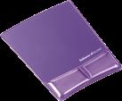 Fellowes Health-V™ Crystal - Tapis de souris Repose poignets - Pourpre
