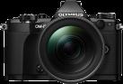 OLYMPUS OM-D E-M5 Mark II, 12-40 mm, 16.1 MP, schwarz