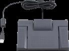 OLYMPUS RS-28H - Interrupteur à pied - 3 boutons - Noir
