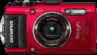 OLYMPUS Stylus Tough TG-4 - Digitalkamera -16 MP - Rot