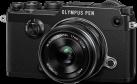 OLYMPUS PEN-F Kit, 21.8 MP, 17 mm, schwarz