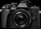 OLYMPUS OM-D E-M10III PancakeZoom Kit - Appareil photo numérique - M.ZUIKO DIGITAL ED 14‑42mm 1:3.5‑5.6 EZ Pancake - Noir