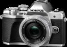 OLYMPUS OM-D E-M10III PancakeZoom Kit - Appareil photo numérique - M.ZUIKO DIGITAL ED 14‑42mm 1:3.5‑5.6 EZ Pancake - Argent