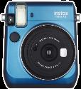 FUJIFILM Instax Mini 70 - Instant Kamera - Objektiv: 60 mm - Blau