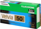 FUJIFILM Velvia 50 Pro 120 5-Pack