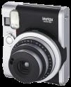 FUJIFILM Instax Mini 90 NEO CLASSIC - Appareil photo instantanée - objectif : 60 mm - noir/argent