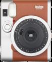FUJIFILM Instax Mini 90 NEO CLASSIC - Appareil photo instantanée - objectif : 60 mm - brun