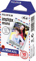 FUJIFILM instax mini  Airmail - Pellicola Instant - Pacco a 10