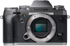 FUJIFILM X-T1 Graphite Silver Edition Body, 16.3MP, Silber