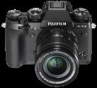FUJIFILM X-T2 Black Kit XF - Appareil à objectif interchangeable - 18-55mm - noir