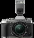 FUJIFILM X-T2 Body - Caméras système - 24.3 Megapixel APS-C X-Trans CMOS III Sensor - Gris/Argent