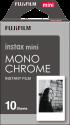 FUJIFILM Instax Mini Film - 10 Blatt - Monochrome