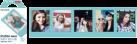 FUJIFILM Instax Mini Film - 10 Blatt - Blue Frame