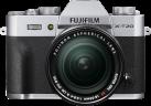 FUJIFILM X-T20 + FUJINON XF 18-55mm f/2.8-4 R LM OIS - Systemkamera - 24.3 MP - Silber