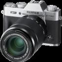 FUJIFILM X-T20 + FUJINON XC 16-50mm f/3.5-5.6 + 50-230mm f/4.5-6.7 OIS II - Fotocamera a ottica intercambiabile - 24.3 MP - Argento