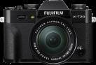 FUJIFILM X-T20 + FUJINON XC 16-50mm f/3.5-5.6 + 50-230mm f/4.5-6.7 OIS II - Systemkamera - 24.3 MP - Schwarz