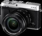 FUJIFILM X-E3 - Spiegellose Systemkamera (DSLM) mit Objektiv - 24.3 MP - Silber