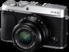 FUJIFILM X-E3 + FUJINON XF23mmF2 R WR - Camera compatta - 24.3 MP - Argento