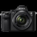 SONY ALPHA 7 II - Spiegellose Systemkamera - Body + Objektiv (FE 28–70 mm F 3,5–5,6 OSS) - 24.3 MP - Wi-Fi - Schwarz
