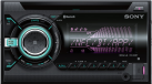 SONY WX-900BT - Autoradio - Bluetooth - Schwarz