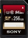 SONY SFG2UX2 - Carte mémoire SD - 256 Go - Noir