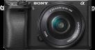 SONY α6300 ILCE-6300L, 16-50 mm, 24.2 MP, Schwarz