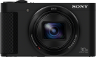 SONY HX90V - Camera compatta - 18.2 MP - nero